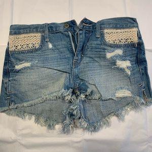 Hollister Jean Shorts - (Size 1, W-25)